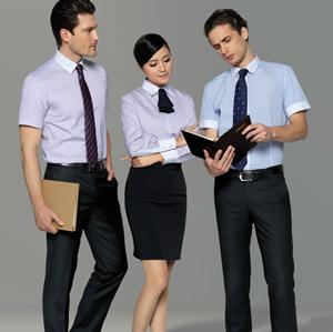职业衬衣短1
