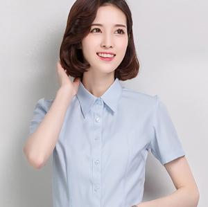 职业衬衣女短2