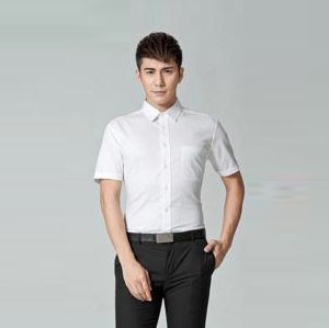 职业衬衣男短2