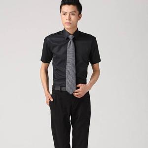 职业衬衣男短1